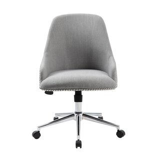 Read Reviews Ried Mid-Back Desk Chair by Mercury Row