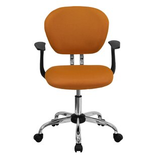 Perillo Mid-Back Mesh Padded Task Chair by Symple Stuff Best #1
