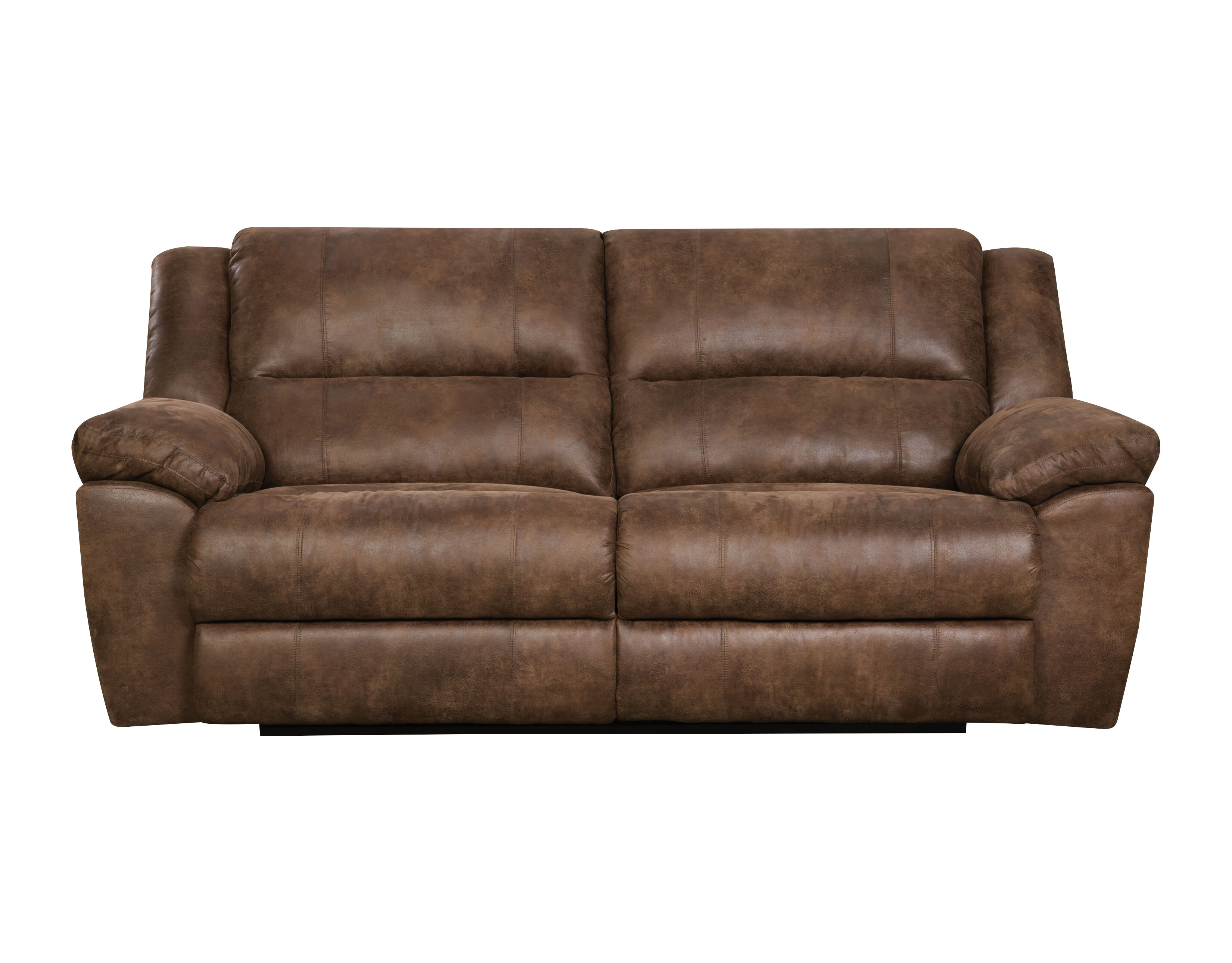 Loon Peak® Umberger Contemporary Double Motion Reclining Sofa & Reviews | Wayfair