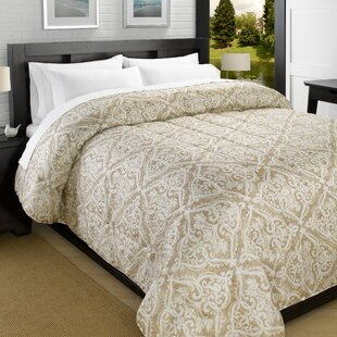 Printed Lightweight Down Alternative Comforter by Red Barrel Studio Reviews