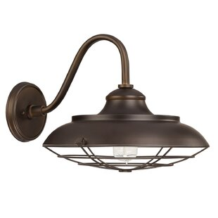 Compare Hallie 1-Light Outdoor Barn Light By Longshore Tides