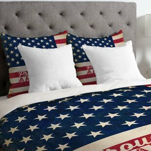 Proud to be an American Flag Lightweight Duvet Cover