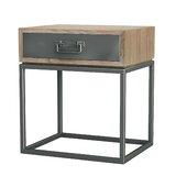 Hinkel 1 Drawer Nightstand by Williston Forge