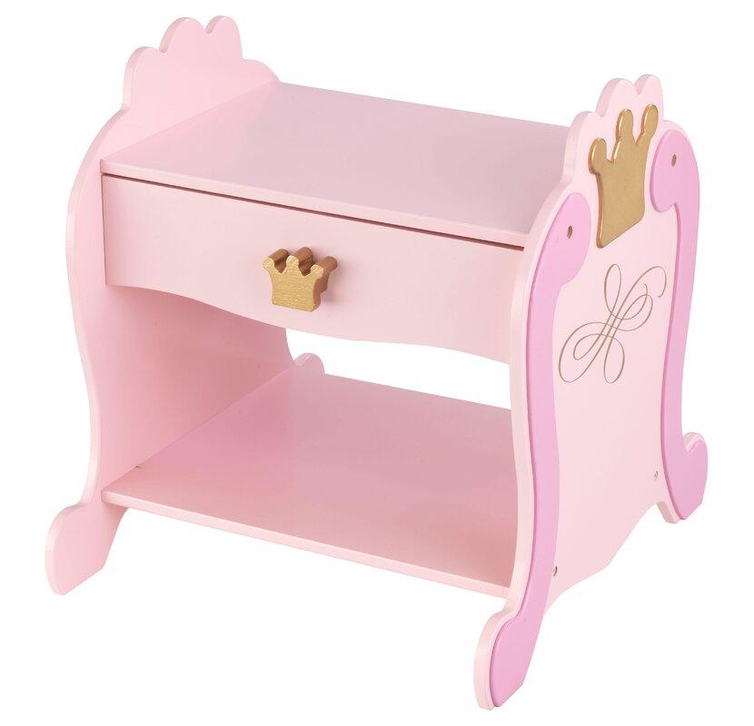 KidKraft Princess Toddler Four Poster Configurable Bedroom Set ...