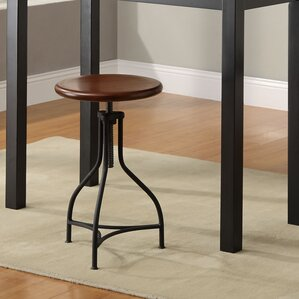 Elgin Adjustable Height Swivel Bar Stool & Industrial Bar Stools Youu0027ll Love | Wayfair islam-shia.org