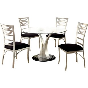 Bertita 5 Piece Dining Set Orren Ellis