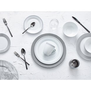 Lowry 16 Piece Dinnerware Set, Service for 4