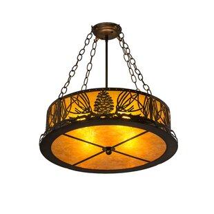 Millwood Pines Fannin 4-Light Drum Pendant