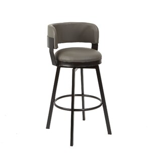 Butz Adjustable Height Bar Stool by Williston Forge