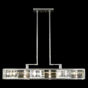 Crystal Enchantment 6-Light Crystal Chandelier by Fine Art Lamps