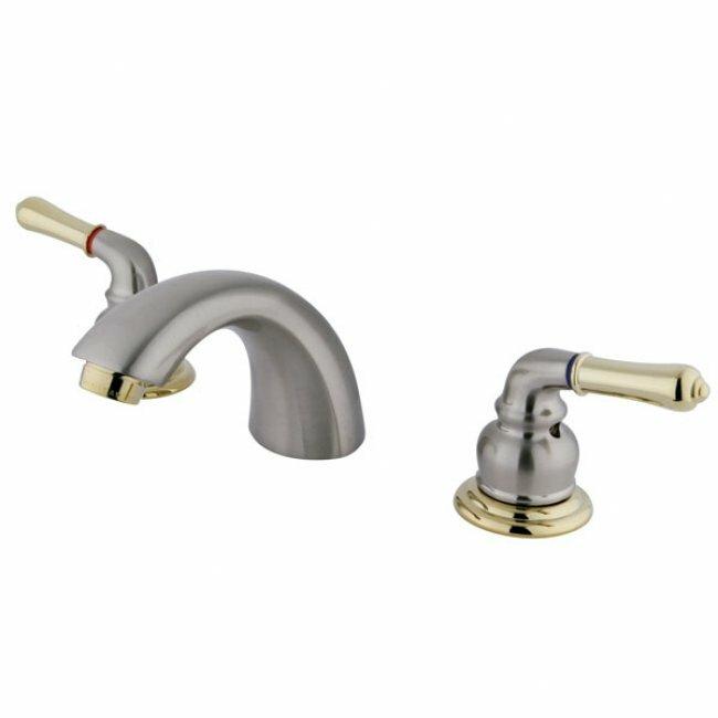 Bathroom Faucet Widespread elements of design mini widespread bathroom faucet with double