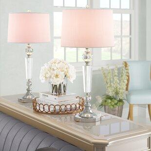 Gangemi Crystal 29.5 Table Lamp Set (Set of 2)