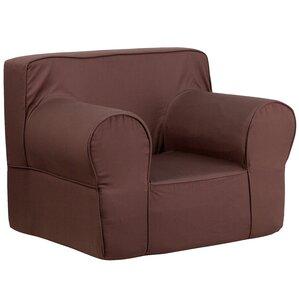 Kids Twill Foam Chair by Flash Furniture