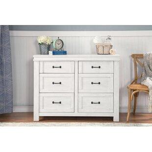 Hollis 6 Drawer Double Dresser