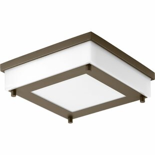 Latitude Run Hankerson 1-Light Flush Mount