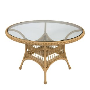Sommerwind Glass Dining Table by Woodard