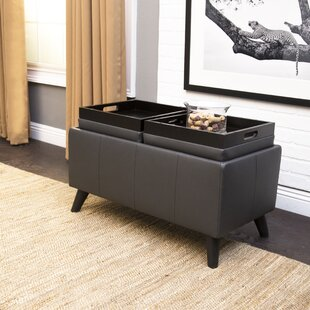 Oshields Convertible Ottoman by Ebern Designs