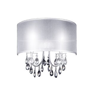 Halo 2-Light Flush Mount by CWI Lighting