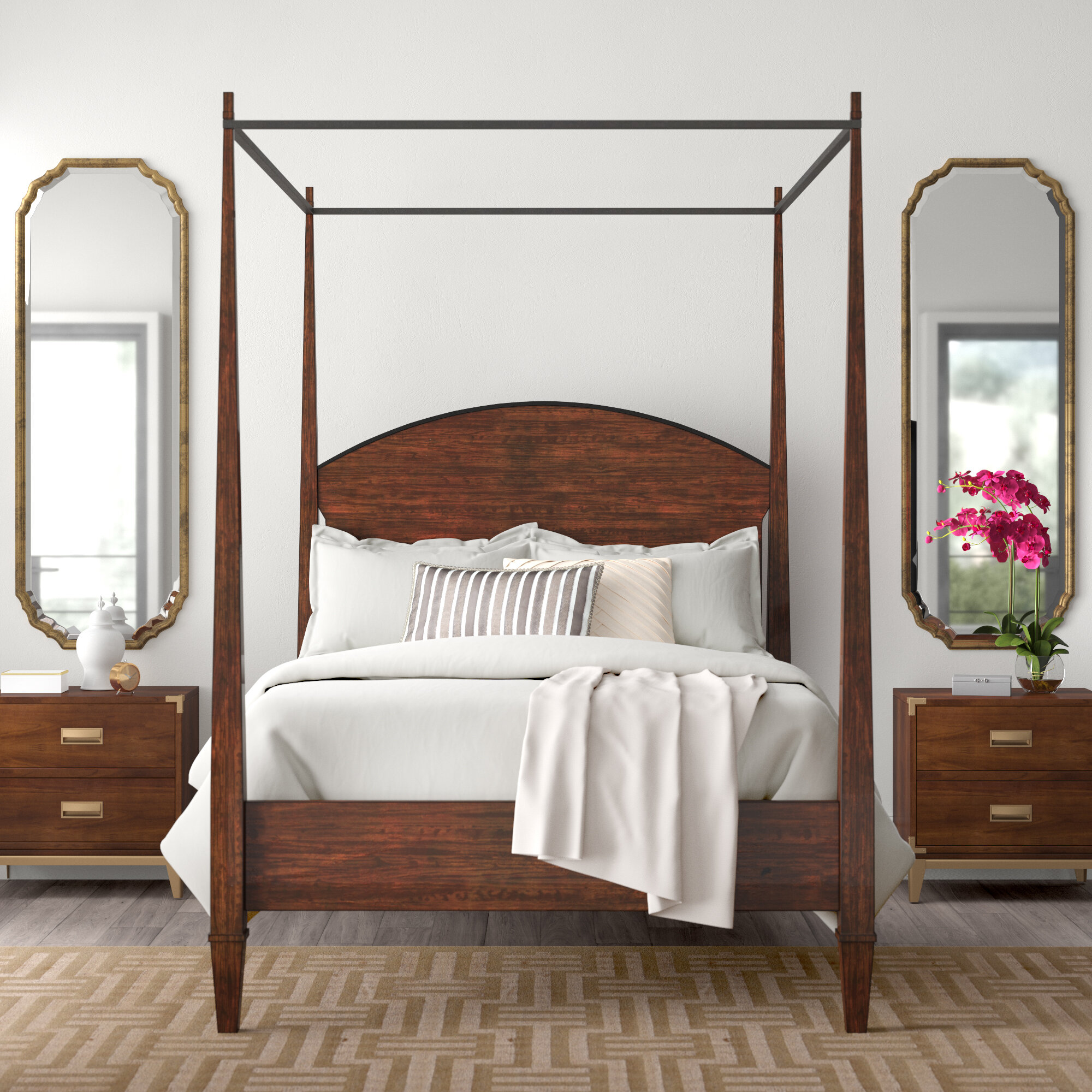 Image of: Canopy Rustic Beds You Ll Love In 2020 Wayfair