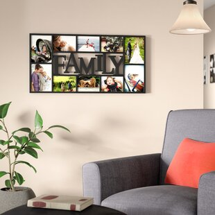 Saum 10 Opening Decorative Family Wall Hanging Collage Picture Frame