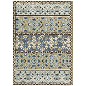 Serrano Green / Blue Area Rug