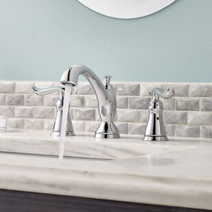 Delta Linden Widespread Bathroom Faucet and Diamond Seal Technology with Optional Pop-Up Drain Assembly