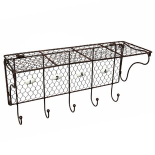 Coat Rack With Storage Compartment