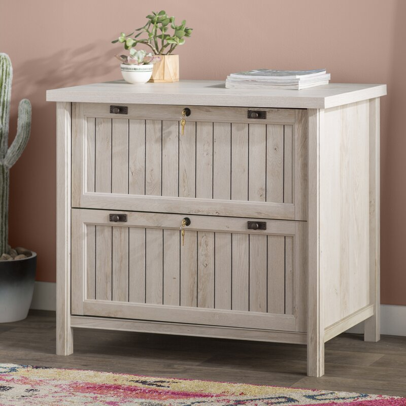 laurel foundry modern farmhouse shelby 2-drawer lateral filing 2 drawer lateral file cabinet