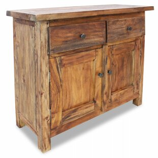 Solid Reclaimed Wood Sideboard by Millwood Pines