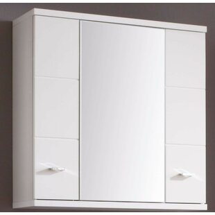 Stratmoor 70 X 70cm Wall Mounted Mirrored Cabinet By 17 Stories