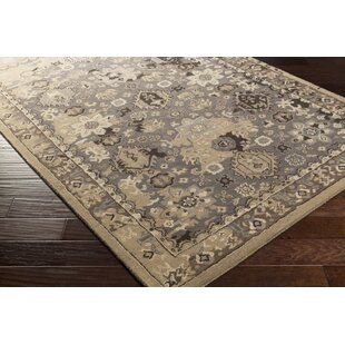 Ivan Hand-Tufted Camel/Taupe Area Rug By Charlton Home