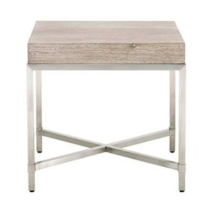 Sagamore Square Top End Table by Brayden Studio