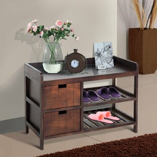 Great Price Shoe Storage Bench By Charlton Home