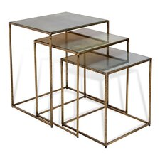 Maci Rectangular 3 Piece Nesting Table by Interlude