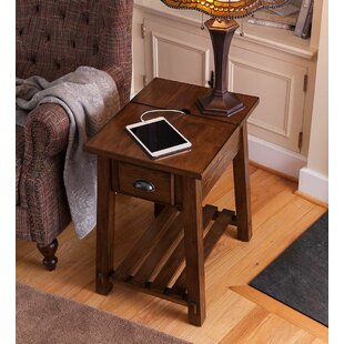 Canyon Charging End Table by Plow & Hearth