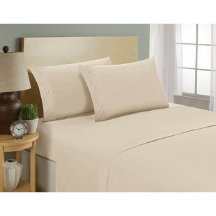 Nona 1800 Thread Count Ultra-Soft Bedroom Sheet Set ByDarby Home Co