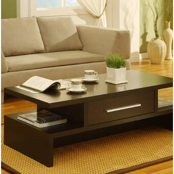 Breakwater Bay Cervantes Wood Coffee Table With Lift Top Reviews Wayfair