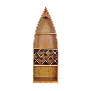Canoe 7 Bottle Floor Wine Rack