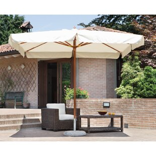 Keira 3m Square Traditional Parasol By Freeport Park