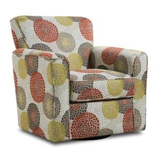 Red Barrel Studio Simmons Upholstery Roulston Swivel Armchair