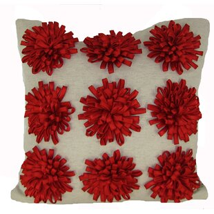 Ming 100% Cotton Throw Pillow