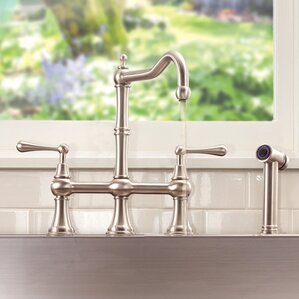 Lenova Double Handle Pull Down Kitchen..