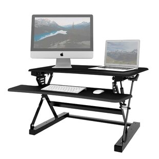 Hames Desktop Standing Desk by Symple Stuff Comparison
