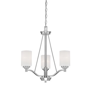 Andover Mills Hester 3-Light Shaded Chandelier