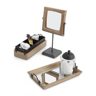 Check Prices Lonestar 3-Piece Bathroom Accessory Set By Paradigm Trends