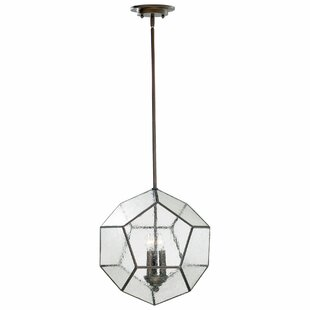 Cyan Design Pentagon 3-Light Geometric Pendant