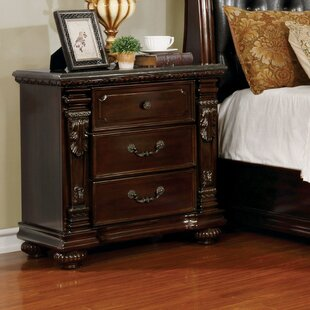 Kelly Traditional 6 Drawer Nightstand