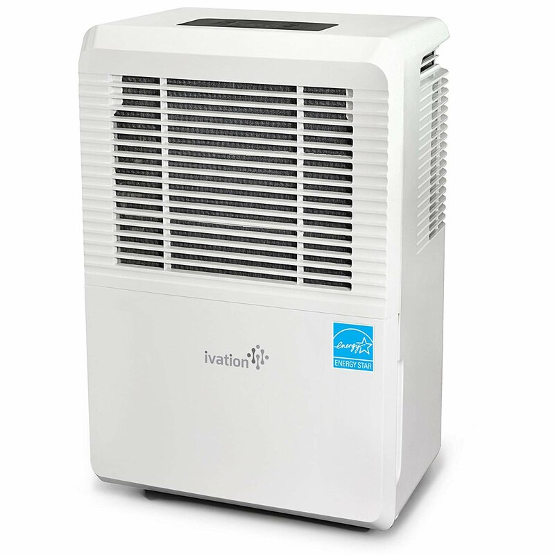 70 Pint 4500 Sq  Ft  Dehumidifier with Built-In Pump