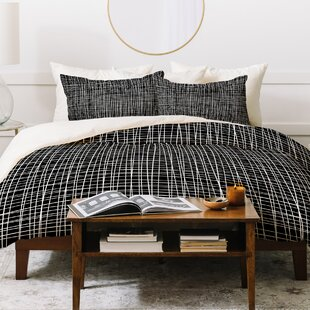 East Urban Home Caroline Okun Obsidian Duvet Set