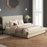 Caleigh Upholstered Platform Bed by Charlton Home®